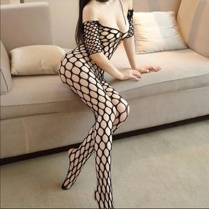 Other - Fishnet lingerie Bodysuit  body stocking catsuit